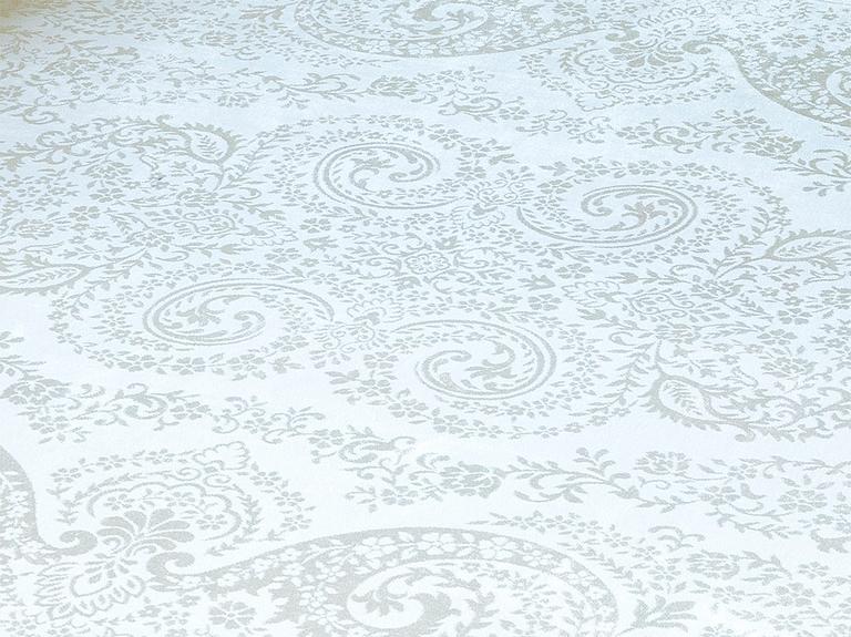 Velvet Klasik Kadife Halı 80x140 Cm Ekru