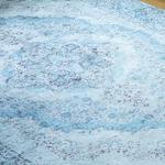 Silk Touch Rena Kadife Halı 120x180 Cm Mavi