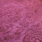 Velvet Klasik Kadife Halı 80x140 Cm Bordo