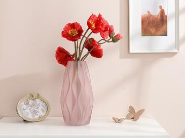 Poppy Yapay Çiçek 53 Cm Bordo