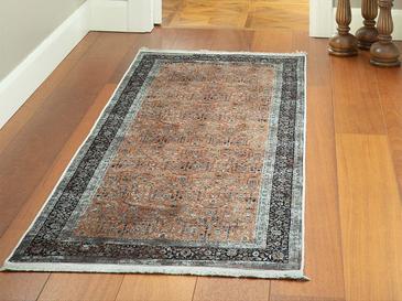 Silk Touch Mila Kadife Halı 80x140 Cm Hardal