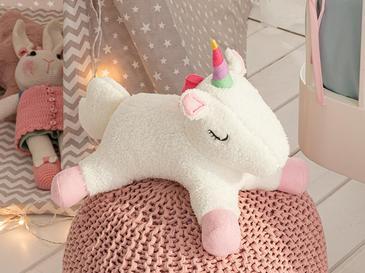 Mini Unicorn Dekoratif Yastık 32x24 Beyaz