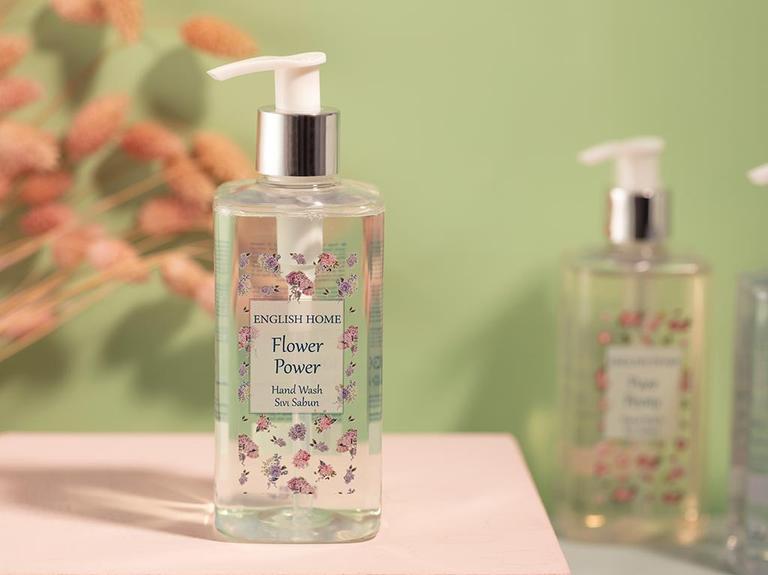 Flower Power Sıvı Sabun 300 Ml Yeşil
