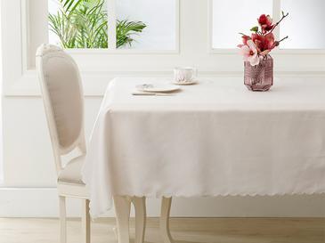 Berry Polyester Masa Örtüsü 140x200 Cm Bej