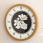 Monochrome Cam Plastik Duvar Saati 30 Cm Siyah