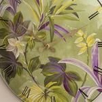 Paradise Garden Cam Plastik Duvar Saati 35 Cm Yeşil