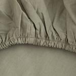 Düz Penye Çift Kişilik Lastikli Çarşaf Takımı 160X200 Cm Adaçayı Yeşili