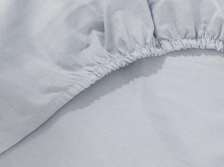Soft Pamuklu Bebek Lastikli Çarşaf 70x140 Cm Mavi