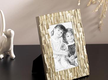 Moderne Polyresin Çerçeve 17x22x1 Cm Gold