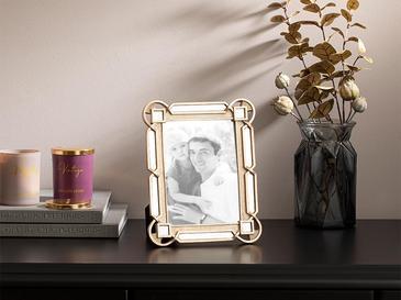 Greta Polyresin Çerçeve 19x24 Cm Gold
