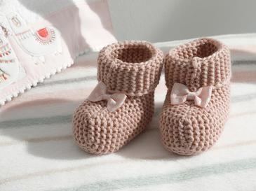Soft Bebe Çorap 6-12 Ay Pembe