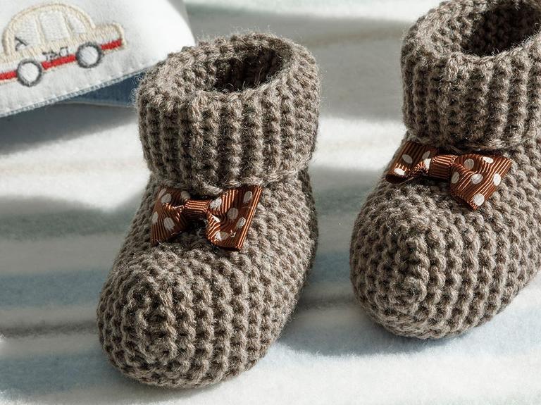 Soft Bebek Çorap 6-12 Ay Kahve