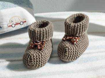 Soft Bebe Çorap 6-12 Ay Kahve