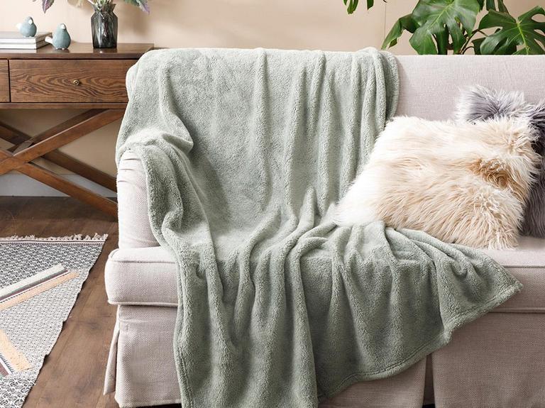 Softy Wellsoft Tv Battaniye 120x170 Cm Acı Yeşil