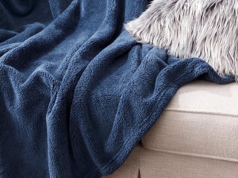 Softy Wellsoft Tv Battaniye 120x170 Cm Mavi
