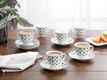 Ilda Porselen 12 Parça Kahve Fincan Takımı 90 Ml Mavi