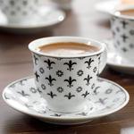 Ilda Porselen 12 Parça Kahve Fincan Takımı 90 Ml Siyah