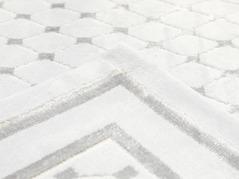 Velvet Touch Kadife Banyo Paspası Seti 60x90 Cm + 50x60 Cm Taş Rengi