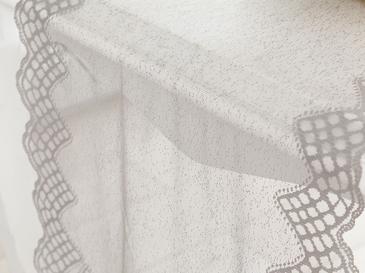 Amy Örme Tekli Runner 45x150 Cm Gri