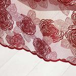 Dream Rose Örme Tekli Runner 45x150 Cm Bordo