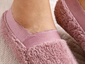 New Soft Polyester Çorap Standart Pembe