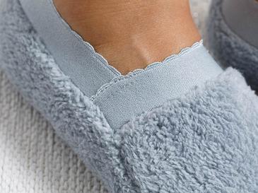 New Soft Polyester Çorap Standart Gri