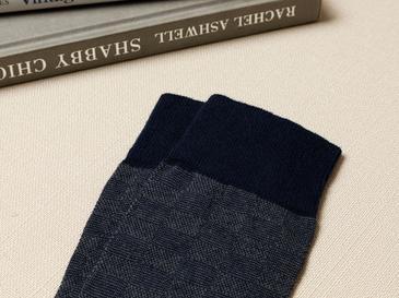 Square Pamuk Erkek Çorap Standart Lacivert