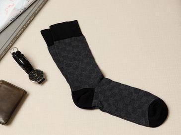 Square Pamuk Erkek Çorap Standart Siyah