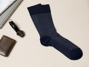Matris Pamuk Çorap Erkek Lacivert