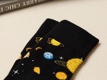 New Planet Pamuk Erkek Çorap Standart Siyah
