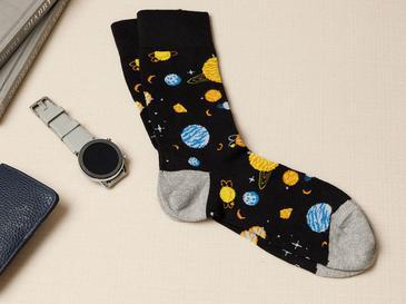 New Planet Pamuk Erkek Çorap Siyah