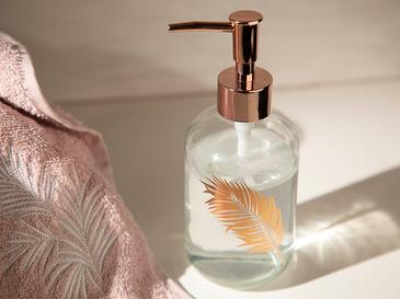 Urban Pure Cam Banyo Sıvı Sabunluk 7,2x18,5 Cm Rose Gold