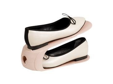 Loya Plastik 2 Katlı Ayakkabı Rampası 10,5x26,3x15 Cm Pudra