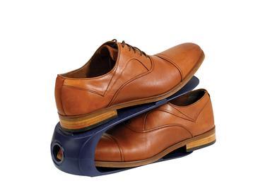 Loya Plastik 2 Katlı Ayakkabı Rampası 10,5x26,3x15 Cm Lacivert
