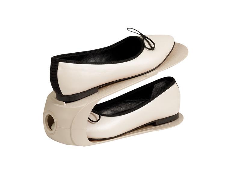 Loya Plastik 2 Katlı Ayakkabı Rampası 10,5x26,3x15 Cm Bej