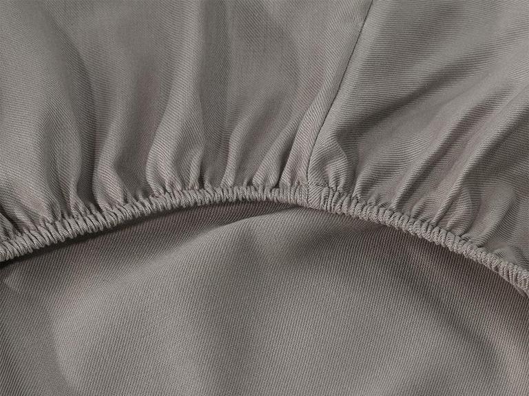 Crystal İpeksi Twill Çift Kişilik Nevresim Takımı 200x220 Cm Taş Rengi