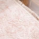 Şal Desen Polyester Halı 80x150 Cm Somon