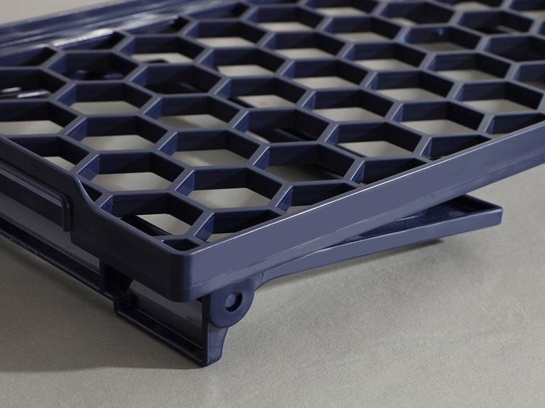 Darcy Plastik Organizer 20x45 Cm Lacivert