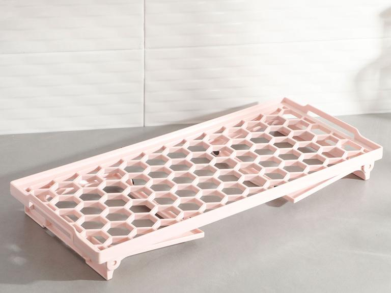 Darcy Plastik Organizer 20x45 Cm Pudra