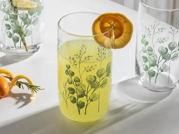 Rosses Cam 3'lü Meşrubat Bardağı 365 Ml Yeşil