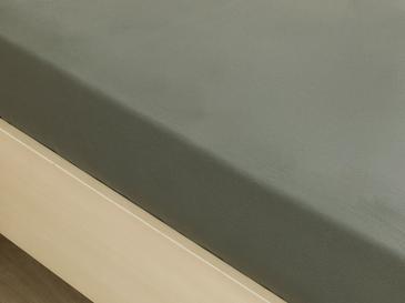 Düz Pamuklu King Size Lastikli Çarşaf Takımı 180x200 Cm Nefti Yeşil
