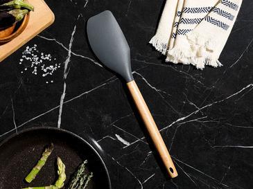 Liana Bambu Spatula 31 Cm Siyah