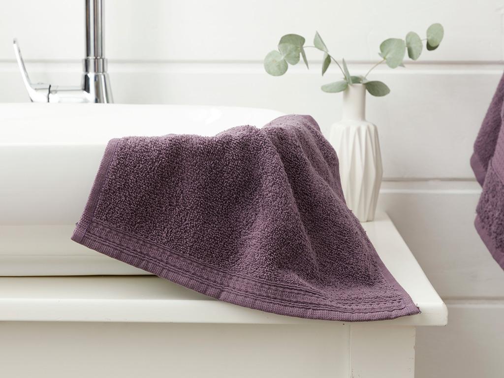 Pure Basic Prosop de Mâini 30x30 Cm Violet Inchis 10010330003