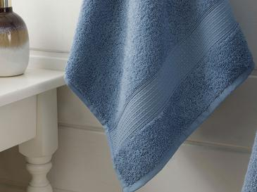 Pure Basic Yüz Havlusu 50X90 Cm Koyu Mavi
