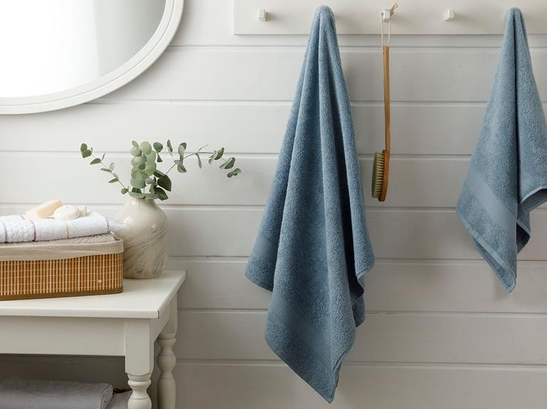 Pure Basic Banyo Havlusu 70x140 Cm Açık İndigo