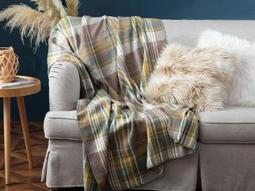 Stemford Scotch Tv Battaniye 130X170 Cm Bej