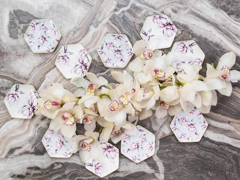 Magnolia New Bone Tekli Çerezlik 10 Cm Pembe