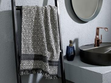 Artgeo İpliği Boyalı Yüz Havlusu 50x80 Cm Siyah