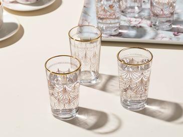 Art Cam 6'lı Kahve Yanı Su Bardağı 100 Ml Şeffaf