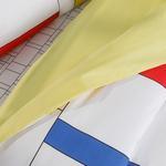 Bauhaus Pamuklu Çocuk Nevresim Takımı 160x220 Cm Kırmızı